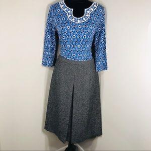 Pendelton Gray A-line Skirt Women's Size 8
